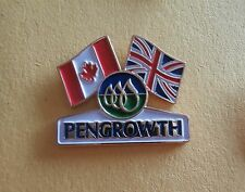 Pengrowth (Energy Corporation) Canada UK Double Flag - Advertising Pin