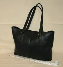 COACH XL Shoulder Tote Carryall Thick Leather Travel Bag EXCELLENT CONDITION