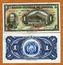 Bolivia, 1 Bolivano, L. 1928, P-118, XF