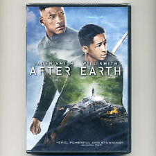 After Earth 2013 PG-13 family sci-fi action movie new DVD Jaden Smith Will Smith