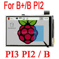 "Raspberry Pi 3 2 PI3 PI2 B+ 3.5"" TFT LCD Touch Screen Module Display Board"