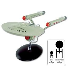 "Star Trek MEGA SIZE 11"" USS Enterprise NCC-1701 Model with Magazine by Eaglemoss"