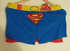Superman Boxer Shorts Size L Cotton New with Tags
