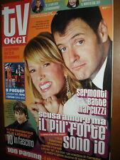Tv Oggi.ALESSIA MARCUZZI & FRANCESCO FACCHINETTI,FEDERICO COSTANTINI,ERIC DANE,i