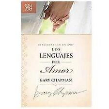 Devocional en un Año - Los Lenguajes del Amor by Gary Chapman (2012, Paperback)