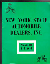 New York State Automobile Dealers Inc Yearbook 1969