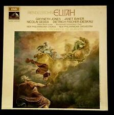 Frühbeck de Burgos / Mendelssohn - Elijah, AS LIST HMV FIRST LABEL SAN 212-14