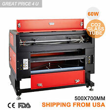 60W CO2 High Precise Laser Engraving Cutting Machine Engraver Cutter USB Port