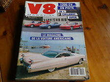 V8 MAGAZINE n° 8 ESSAI ZR1 CALLAWAY VIPER - CADILLAC COUPE 59 comme neuf