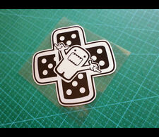 Domo kun Rock & Roll Band-aid JDM Reflective Decal Sticker