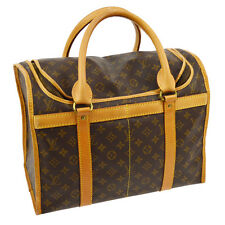 AUTHENTIC LOUIS VUITTON SAC CHIEN 40 TRAVEL HAND BAG M42024 MONOGRAM 17232js A