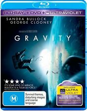 Gravity (Blu-ray, 2014, 2-Disc Set)