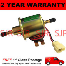 12V ELECTRIC UNIVERSAL PETROL DIESEL FUEL PUMP FACET CYLINDER STYLE TRACTOR BOAT