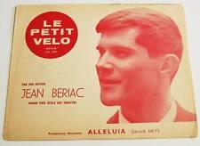 Partition vintage sheet music JEAN BERIAC : Le Petit Vélo * 60's