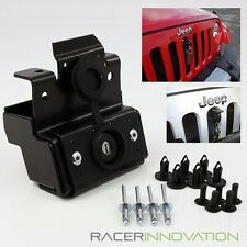 For 07-15 Jeep Wrangler JK/Rubicon Metal Anti-theft Engine Hood Lock Latch Kit