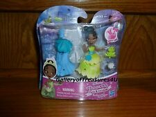 "Disney Princess Little Kingdom Fashion Change TIANA Snap-Ins 3"" Doll Snap Clip"