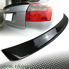 Carbon Fiber AUDI A4 B6 S REAR 4DR SEDAN TRUNK SPOILER 02-05