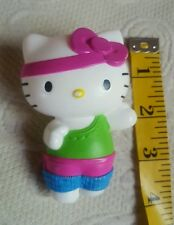 Aerobic Hello Kitty Figure Play Cake Topper  Sanrio McDonalds 2013 • Pre-owned