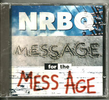NRBQ .. MESSAGE FOR THE MESS AGE!! NR!!!!!