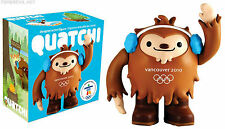 Vancouver Olympic 2010 Mascot Quatchi happy worker vinyl new in box