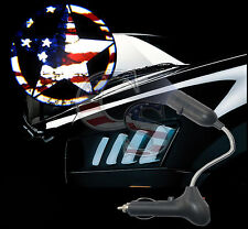 Car Cigarette Projector Ghost Shadow USB Charger LED Light for American Flag