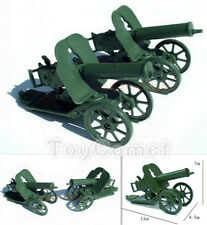 "2 pcs Military Maxim Machine Gun Model Toy Soldier 3.75"" Action Figure Accessory"