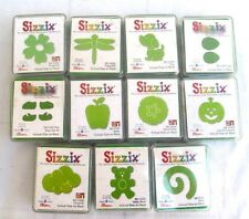 LOT of 11..SIZZIX..DRAGONFLY..PUPPY..PUMPKIN..SHOES..ETC.