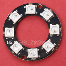 WS2812 8-Bit RGB LED Ring Lamp Panel 5050 Built-in RGB Driver for Arduino