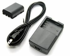 Battery+Charger for Canon CB-2LTE CB-2LW CB-2LWE CBC-NB2 D85-1632-000 7873A002AA