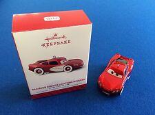 Radiator Springs Lightning McQueen - 2014 Hallmark Keepsake Christmas ornament