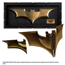 BATMAN The Dark Knight Rises The BATARANG Prop Replica with Display Case