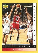 MICHAEL Air JORDAN 1992-93 Upper Deck Jerry West Selects #JW1 Chicago Bulls HOF