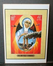 OUR MOTHER OF SORROWS PLAQUE, World Trade Center, Wall Art, Christian, Religious
