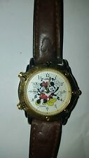 vintage collectable lorus japan mickey minnie mouse musical light watch v52yx001