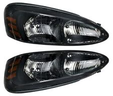 2004 2005 2006 2006 2007 2008 PONTIAC GRAND PRIX HEAD LAMP LEFT & RIGHT PAIR