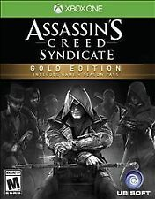 Assassin's Creed: Syndicate -- Gold Edition (Microsoft Xbox One, 2015)