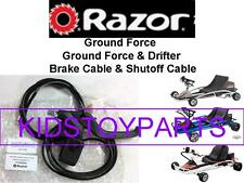Razor Ground Force Drifter Go Cart Kart Brake Lever Assembly with Shut Off Cable