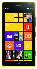 """New"" Nokia Lumia 1520 - 16GB - Yellow (AT&T Unlocked) Smartphone  GSM 4G LTE"