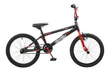 "2016 Rooster Radical Kids 20"" Wheel Freestyle BMX Bike Bicycle Black Red RS114"