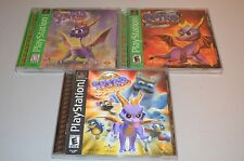 SPYRO Riptos Rage Year Of Dragon 3D Lenticular 3 SONY PLAYSTATION PS1 VIDEO GAME