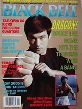 RARE 6/93 BLACK BELT MAGAZINE BRUCE LEE SHITO RYU KARATE KUNG FU MARTIAL ARTS