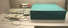 Silicon Graphics Indigo 2 computer Turquoise with mouse and keyboard works