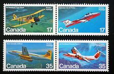CANADA Sc# 903-906  COMPLETE SET of 4 AIRCRAFT airplanes planes  MINT MNH  1981