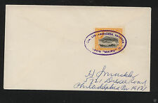 Antigua  ship cancel cover  Maipo                  KL1117