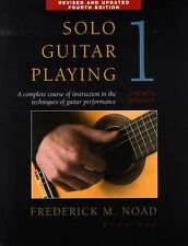 Solo Guitar Playing Learn to Play Student Lesson Music Book 1