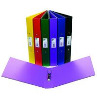 INITIATIVE A4 RING BINDERS - 2 RING - 25mm CAPACITY - VARIOUS COLOURS
