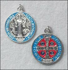 Catholic St Benedict Medal Pendant Necklace + Salvation Coin + BONUS BOOKS/CARDS