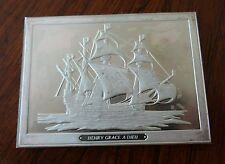 Franklin Mint Great Sailing Ships of History Sterling Ingot Henry Grace a Dieu