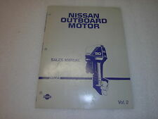 Nisson Outboard Sales Manual