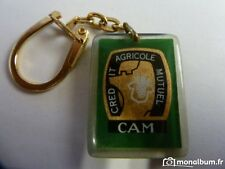 Porte-clés BOURBON : C.A.M VERT - ttt